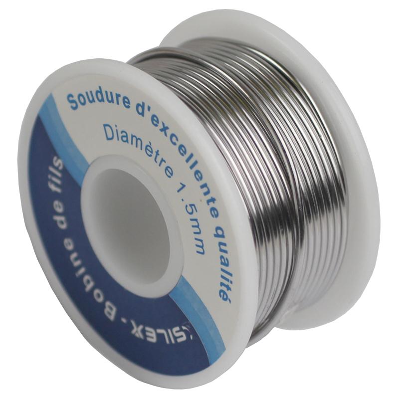 Station fer souder lectrique 60w 1 bobine de fil d 39 tain silex - Bobine fil electrique ...