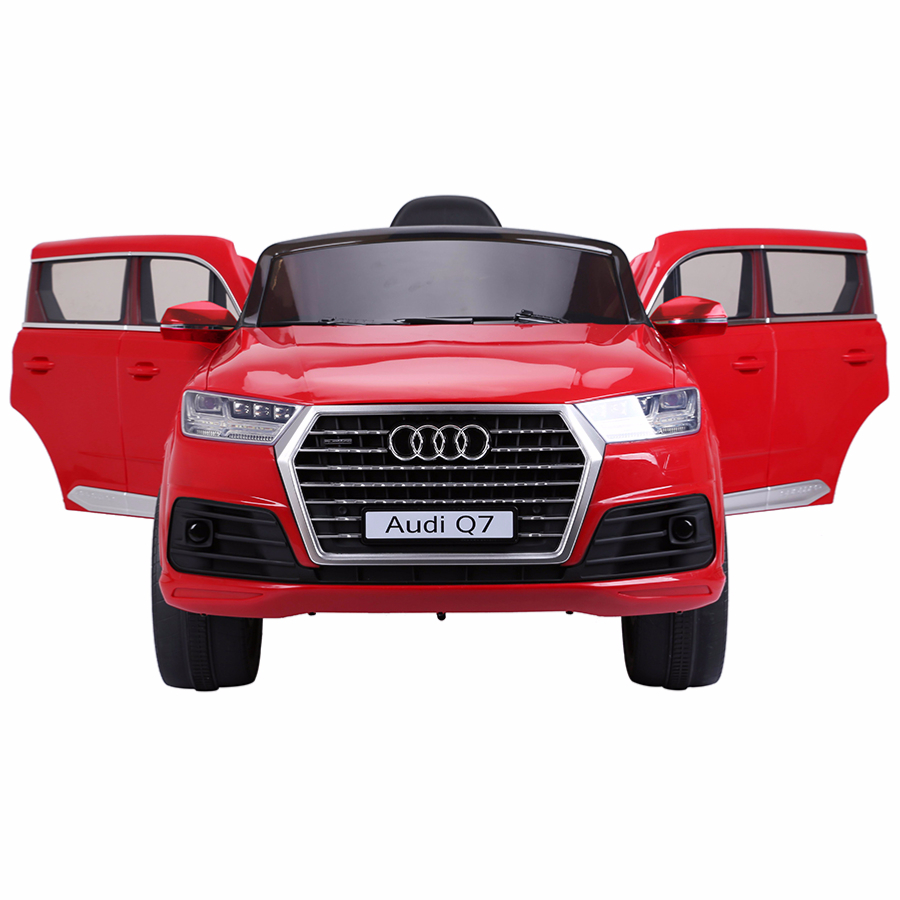 4x4 lectrique 12v pour enfant audi q7 version luxe cristom rouge. Black Bedroom Furniture Sets. Home Design Ideas