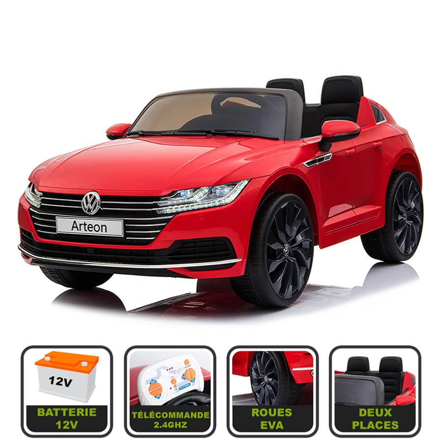 voiture lectrique 12v pour enfant volkswagen arteon cristom. Black Bedroom Furniture Sets. Home Design Ideas
