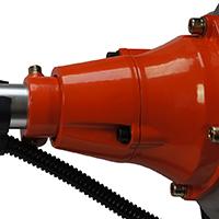 Système anti-vibrations de la débroussailleuse thermique Silex