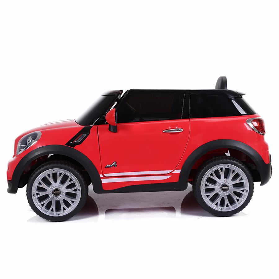 voiture lectrique 12v pour enfant mini paceman cristom rouge. Black Bedroom Furniture Sets. Home Design Ideas