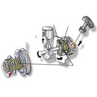 Système de démarrage de la tronçonneuse thermique