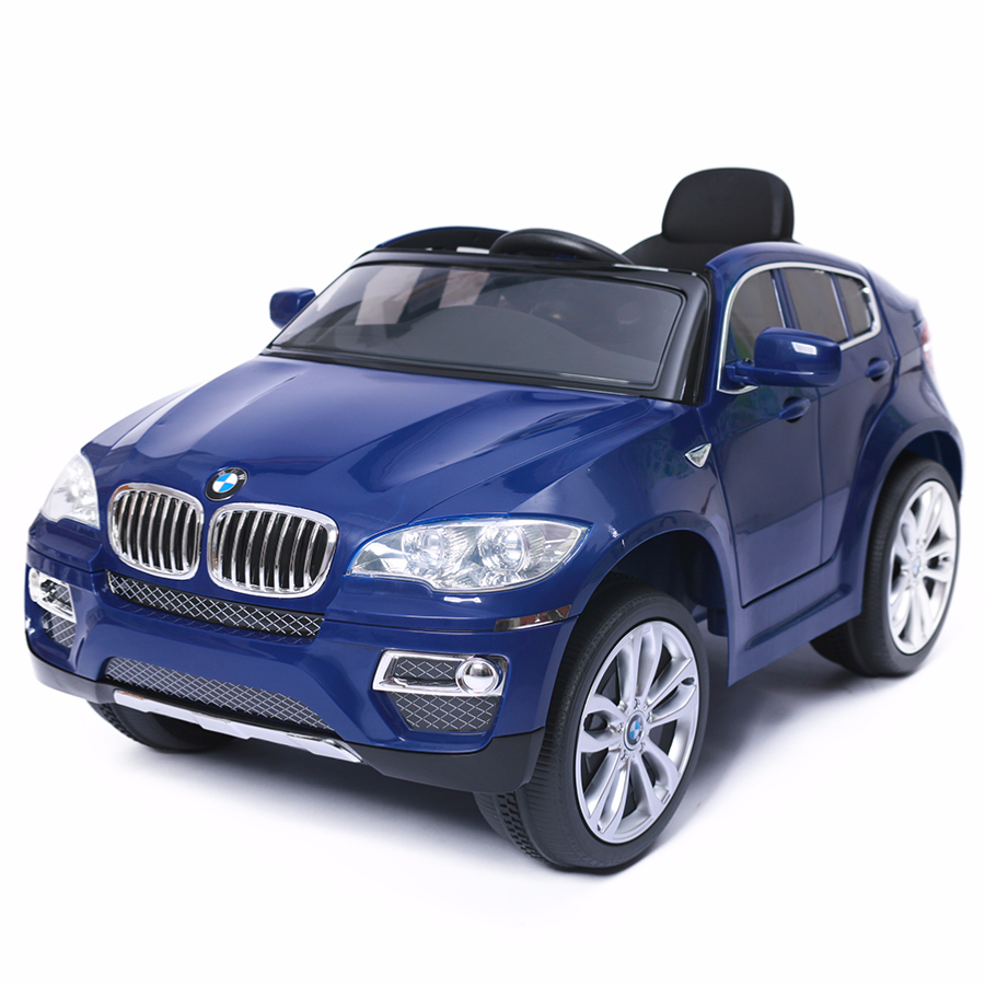 4x4 lectrique 12v pour enfant bmw x6 cristom bleu. Black Bedroom Furniture Sets. Home Design Ideas