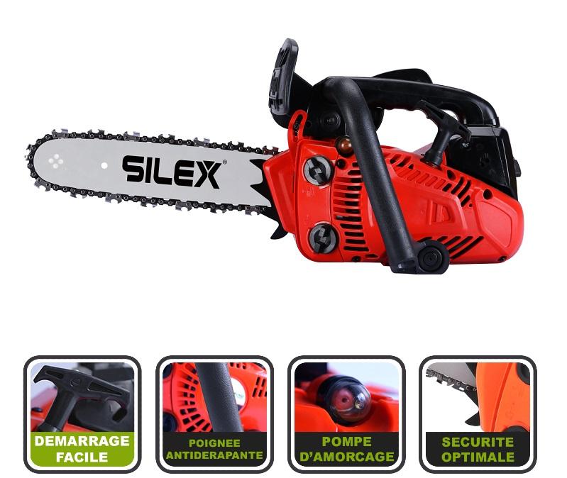 Elagueuse Thermique Silex 2500 25 Cc Guide 12 30 Cm