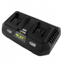 Chargeur double batteries rapide Li-Ion 21.5V (DC)/3,0A