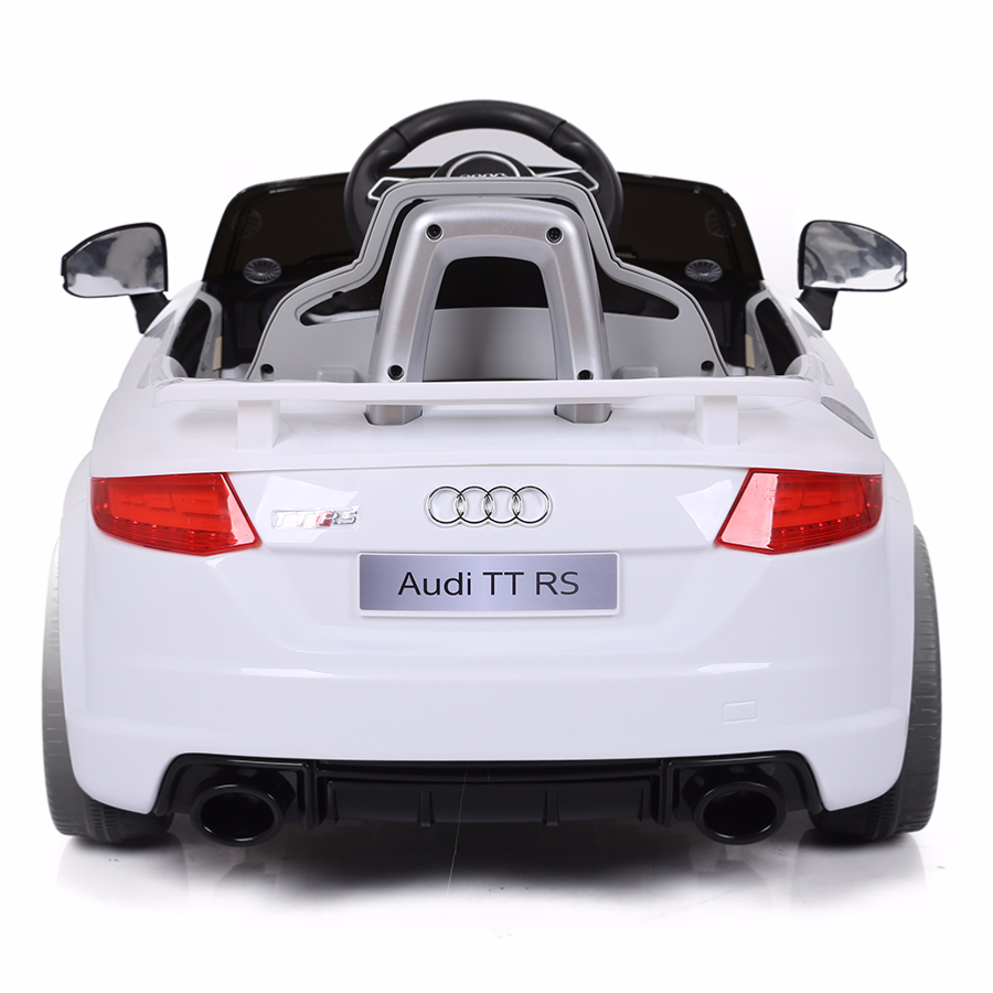 voiture de sport lectrique 12v pour enfant audi tt rs. Black Bedroom Furniture Sets. Home Design Ideas
