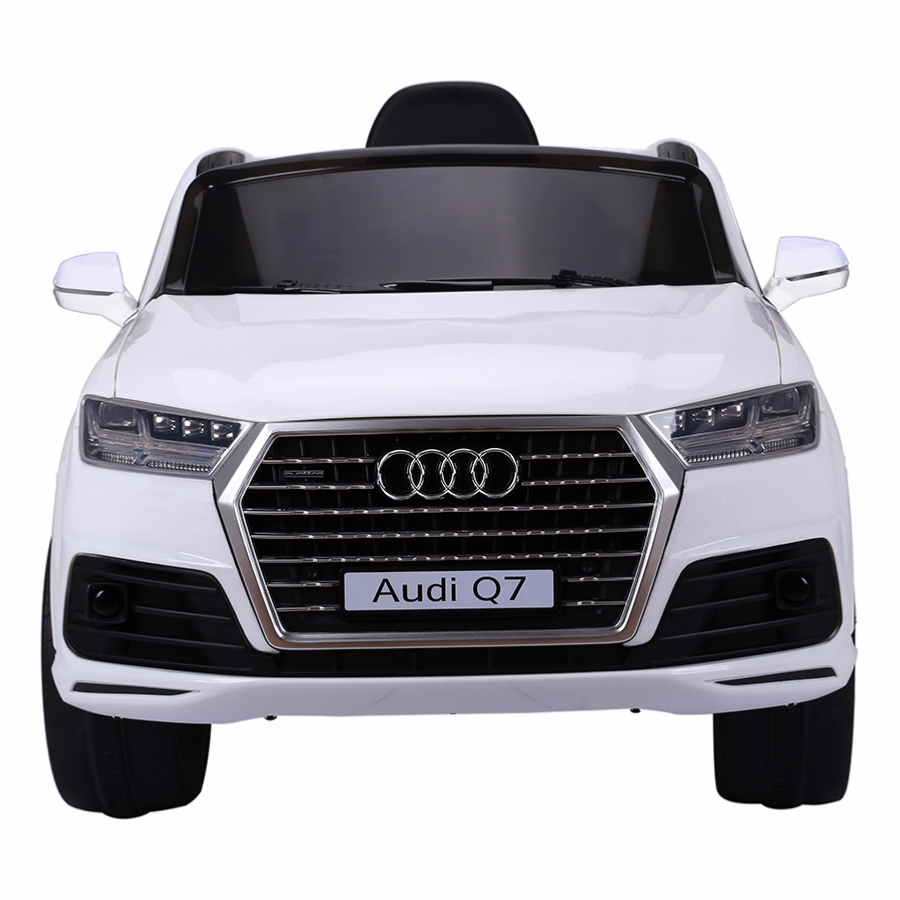 4x4 lectrique 12v pour enfant audi q7 version luxe cristom blanc. Black Bedroom Furniture Sets. Home Design Ideas